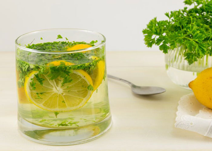 При Похудении Сок Лимона И Петрушка. Петрушка с лимоном для похудения напиток