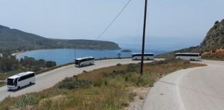 ΚΤΕΛΝαύπλιο προς την παραλία της Καραθώνας
