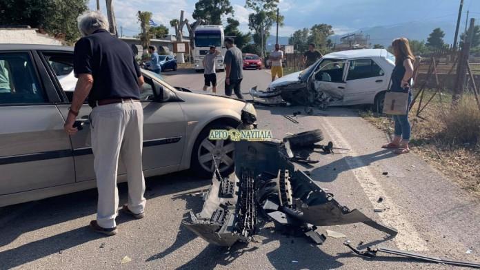 Τροχαίο με τραυματισμένη γυναίκα στην Νέα Κίο Άργους