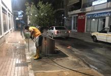Πρόγραμμα πλυσίματος δρόμων