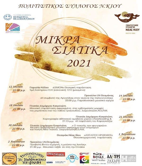 ΜΙΚΡΑΣΙΑΤΙΚΑ 2021
