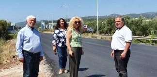 """""""Νέα Πελοπόννησου"""" : Επίσκεψη στις εργασίες στον οδικό άξονα Πύργος-Καλό Νερό"""